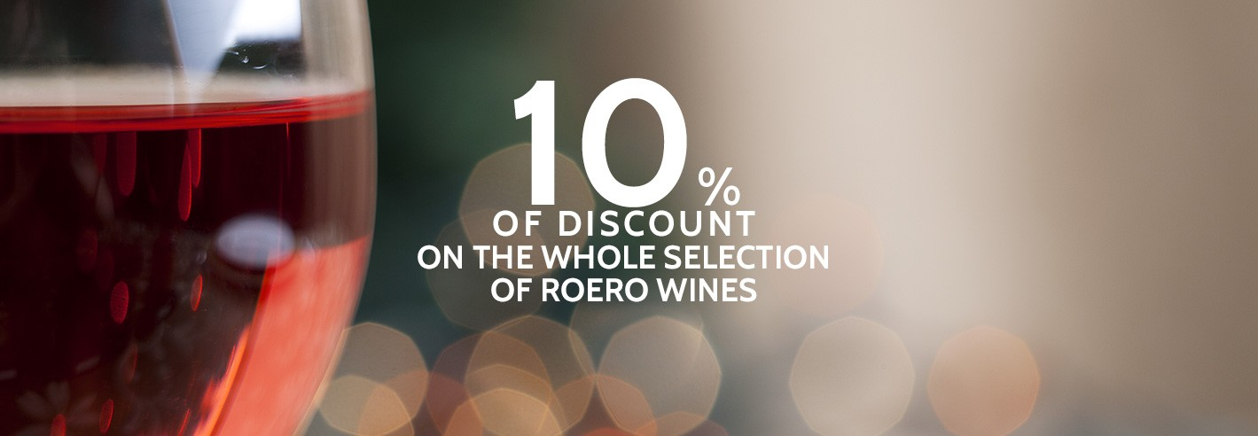 Roero Promotion 10%  of discount